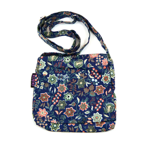 Shoulder bag NijensChoto - blue mix