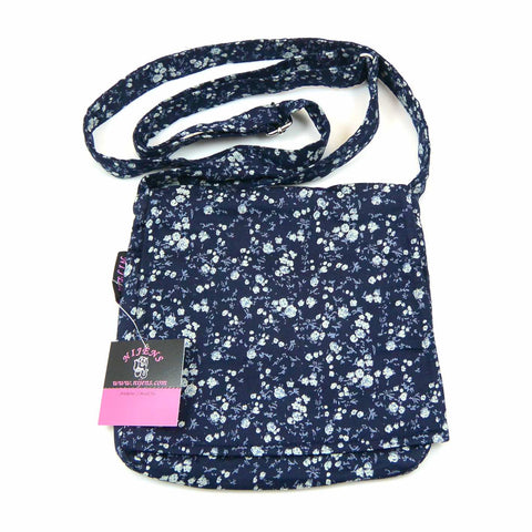 Bag NijensChoto-33 dark blue roses