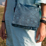 Shoulder bag Nijens Choto-2 blue mix