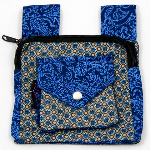 Bum bag NijensDelhi blue mix
