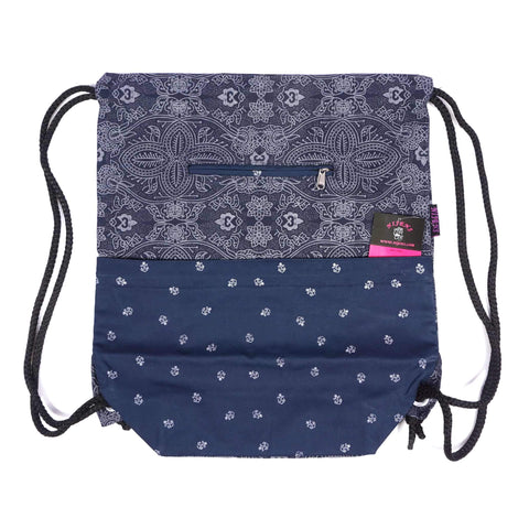Gym bag Indigo anchor canvas bag Nijens Berlin image