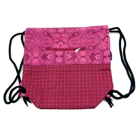 NijensGanga Backpack Magenta-149