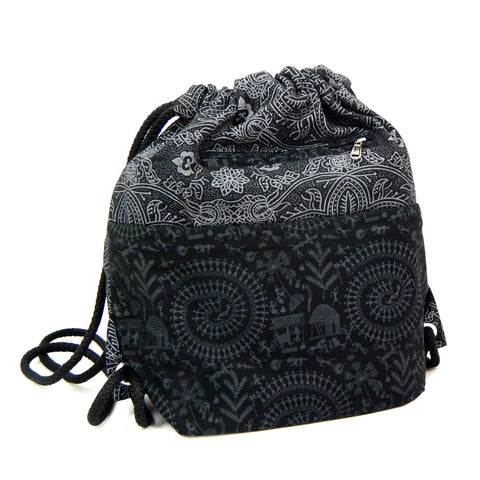 Nijens Ganga Backpack Egypt Black