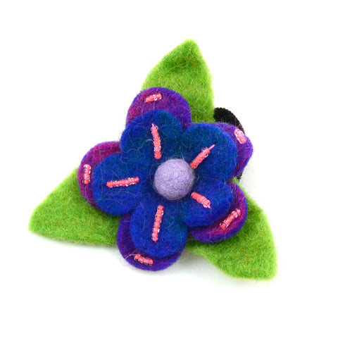Hair tie flower-12