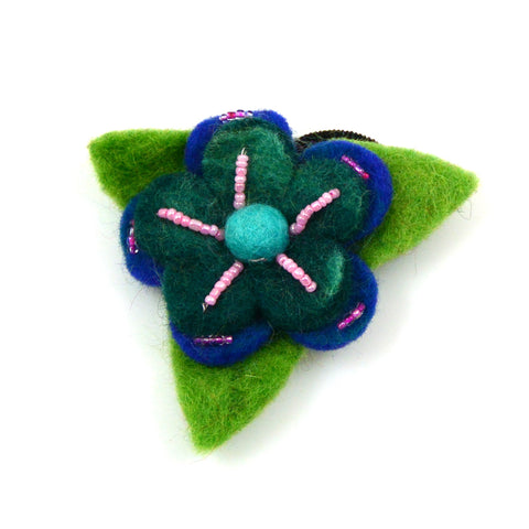 Hair tie flower-8