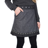 Wenderock NijensRocksana Tweed Long Black-207