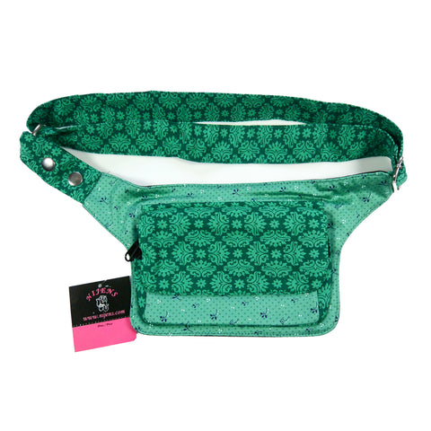 Nijens emerald hip bag