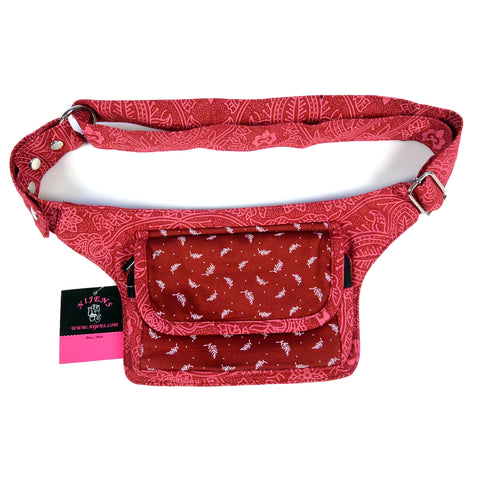 Red Festival Bag Waist Pack Nijens