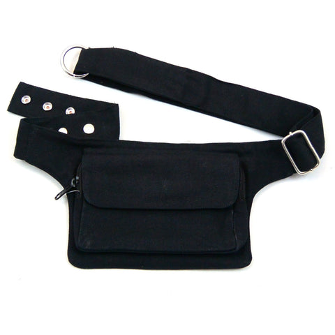 Black Uni Hip Bag Waist Bag Nijens