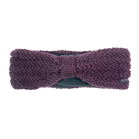 Winter headband NijensLiron 38 plum