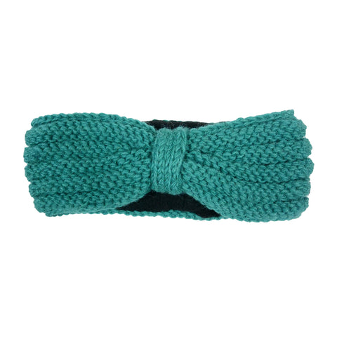 Virgin wool hand knitted headband Berlin handmade