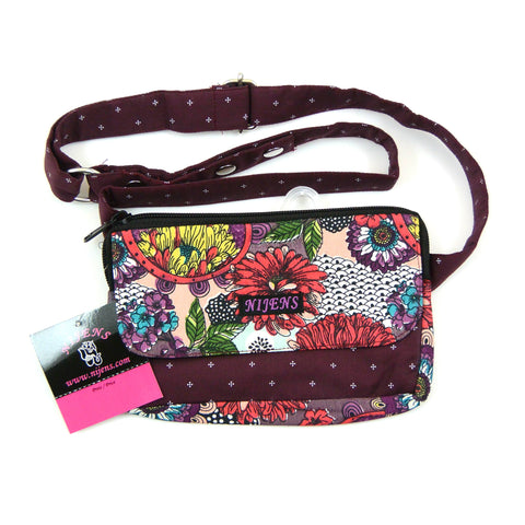 Belt bag for children and adults red bag