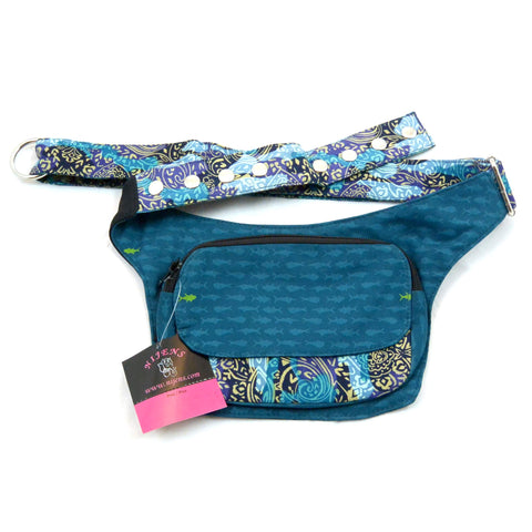Belt bag especially for dog owners and lovers