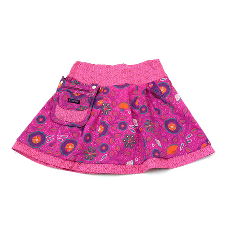 for girls reversible skirt children's skirt Nijens Mini