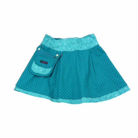 Nijens children's skirt Mini-Pavlana blue