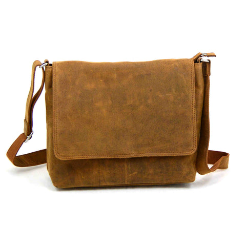 Leather bag NijensNJ-01 TAN