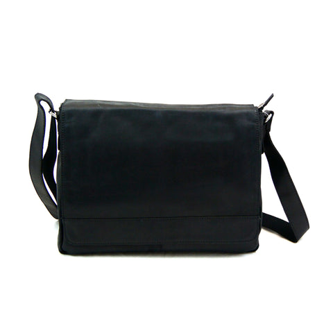 Leather bag NijensNJ-11 Black