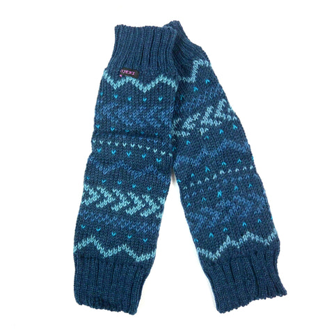 Gauntlets Nijens Nagar-Dance wool C-16 blue