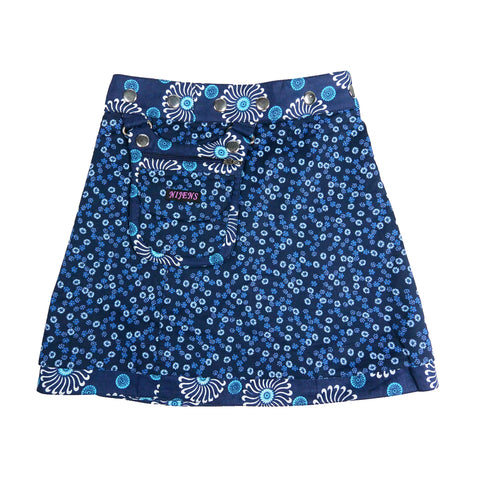 Nijens children's skirt mini skirt cotton skirt blue