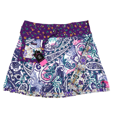 Nijens Wenderock India Paisley Cotton Skirt Offer Berlin