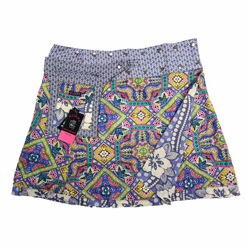Nijens skirt cotton multicolored