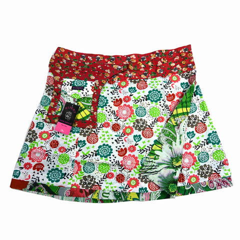 Reversible skirt Nijens Cherly Pie Long Paisley-50