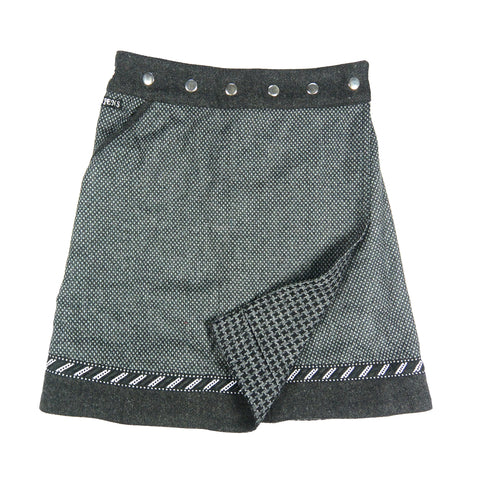 Reversible skirt Nijens Rocksana Tweed Long