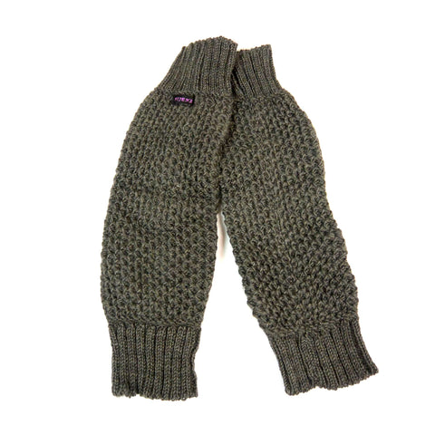 Nijens gauntlets wool anthracite NJ-Oryom-Dance 39