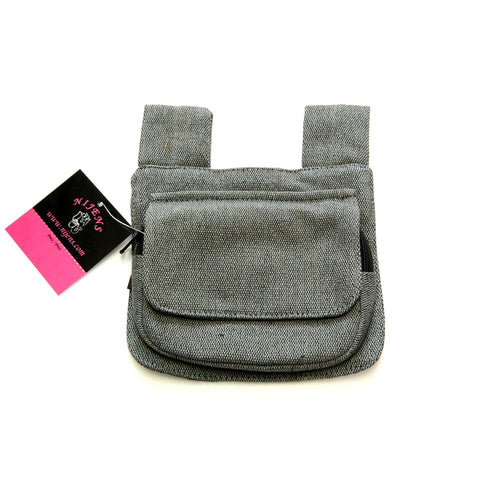 Fanny pack, pouch pocket with belt loops, ideal companion