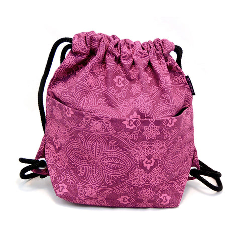 Backpack NijensPeethoo Bag Magenta 11