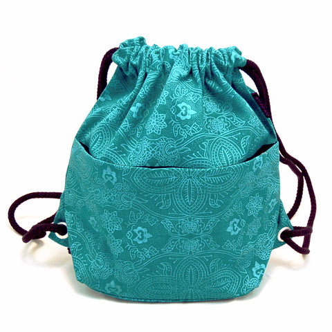 Backpack NijensPeethoo Bag - Turquoise 03 (new 12)