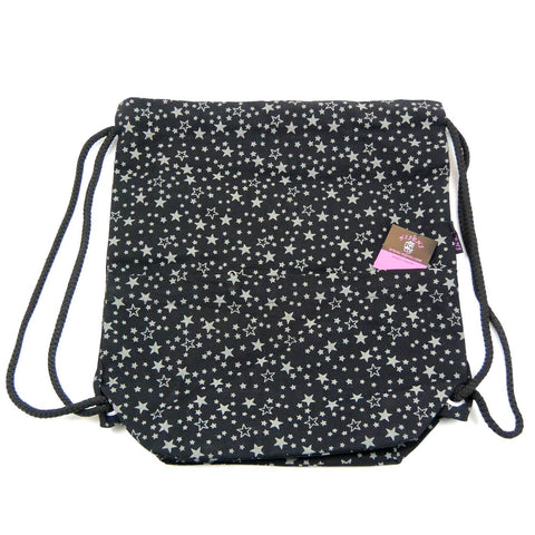 Backpack NijensPeethoo Bag black stars 028