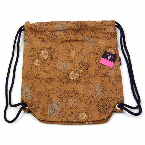 Backpack NijensPeethoo Bag gold-31
