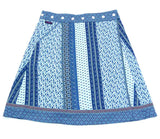 Summer skirt NijensRocksana Midi - light blue decoration 24