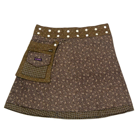 Skirt Nijens Rasmalai W-4 Brown ornament