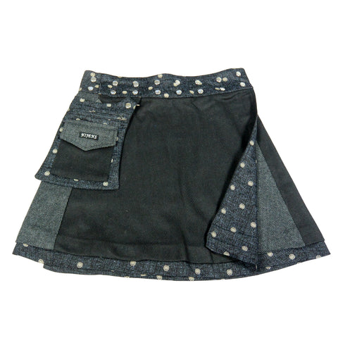 Reversible skirt Nijens Rasmalai Tweed Black-121