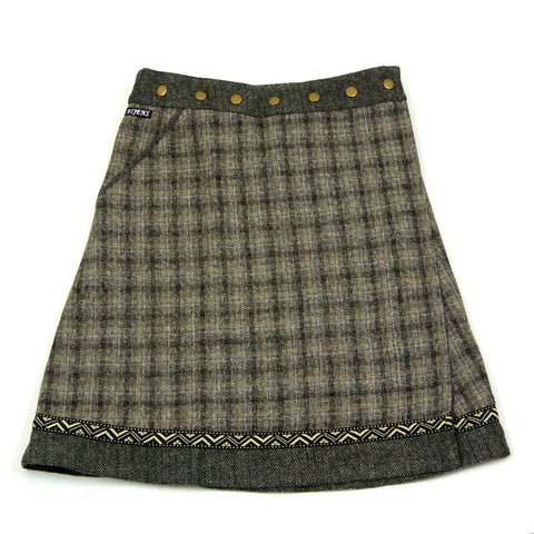 Winter skirt NijensRocksana Tweed Midi 16