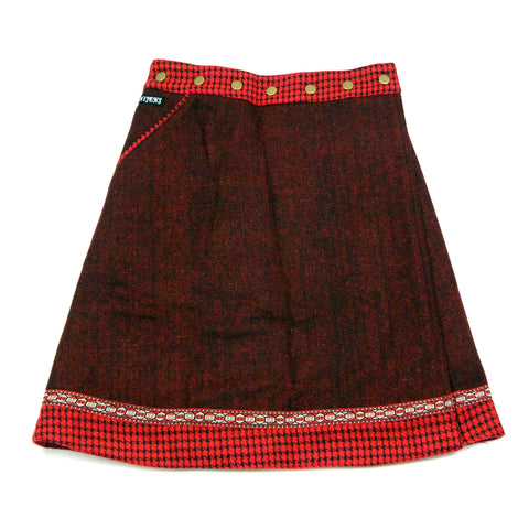 Nijens reversible skirt Rocksana Tweed Midi 25