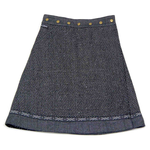 Winter skirt NijensRocksana Tweed Midi-33