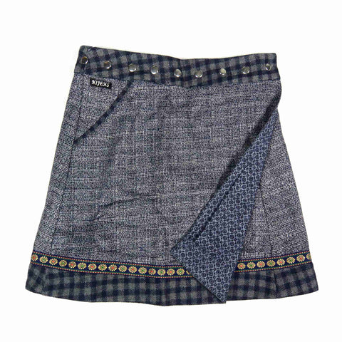 Reversible skirt Nijens Rocksana Tweed Long-205
