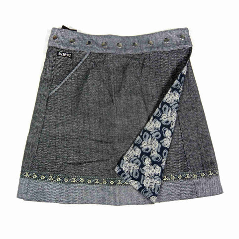 Reversible skirt Nijens Rocksana Tweed Long-206