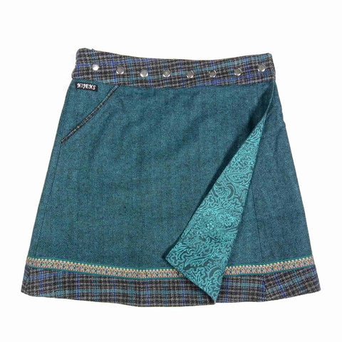 Reversible skirt Nijens Rocksana Tweed Long-208
