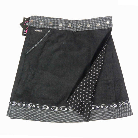 Reversible skirt Nijens Rocksana Tweed Long-209