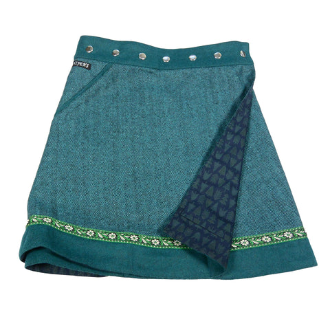Reversible skirt Nijens Rocksana Tweed Long-228