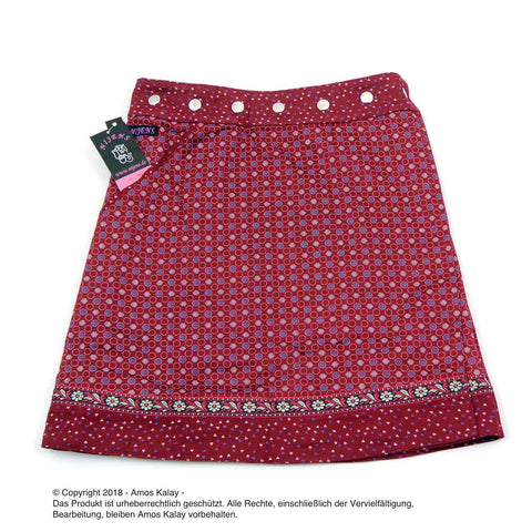 Nijens reversible skirt Rocksana Long red-33