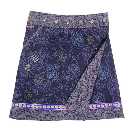 Reversible skirt Nijens Rocksana Long Purple W-56