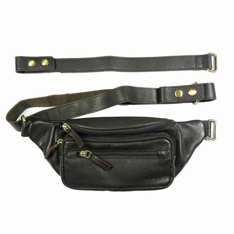 Leather bum bag Nijens Pouch Bum Bag