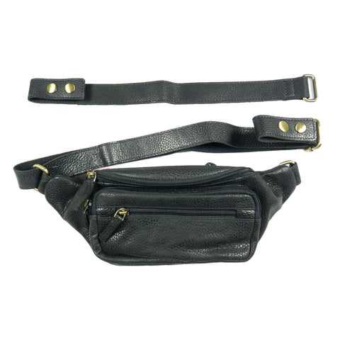 Nijens leather pouch for dog lovers NJ-20 Black