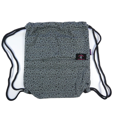 Backpack Nijens Gym Sack Bag Paw Gray