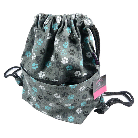 Backpack NJ-Peethoo Bag paw Aquamarine-49